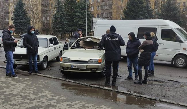 В Ужгороді трапився вибух в автомобілі