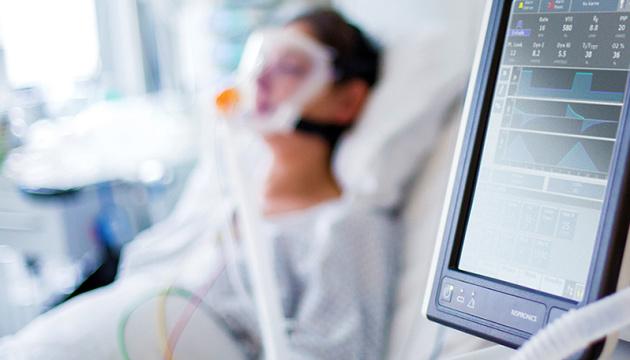 У Закарпатті близько 70% пацієнтів потребують кисневої підтримки