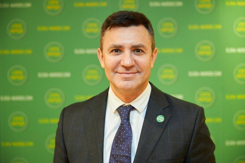 Колишній ревізор Микола Тищенко очолив Закарпатську організацію «Слуги народу»