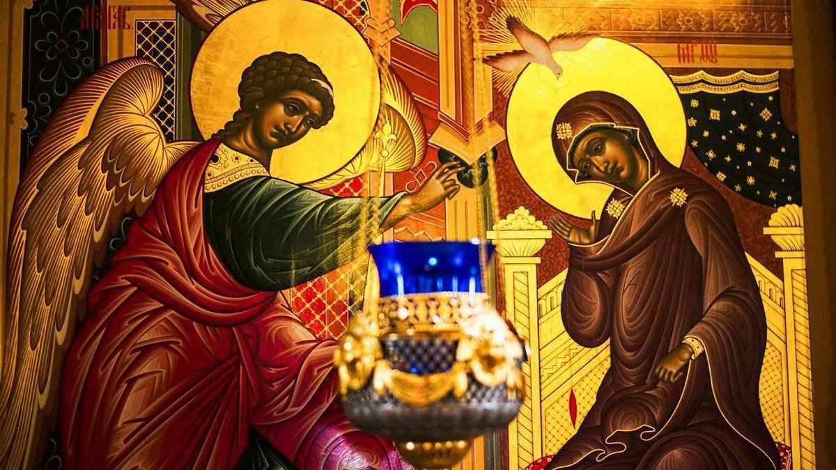 25 березня: Благовіщення у вірників західного обряду та Феофана у православ'ї