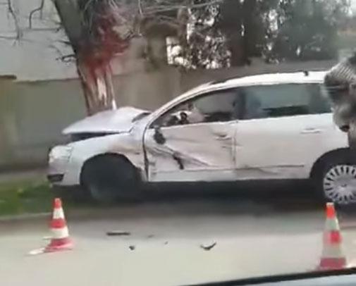Очевидець оприлюднив відео ДТП в Ужгороді