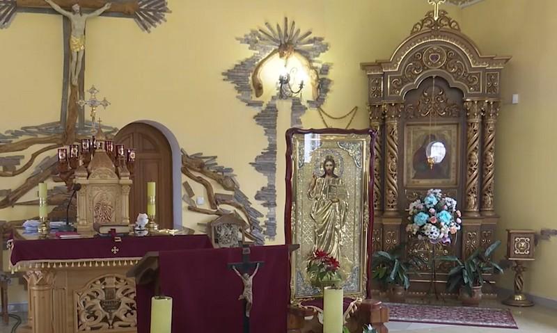 В одному з храмів Мукачева є чудотворна ікона Божої Матері