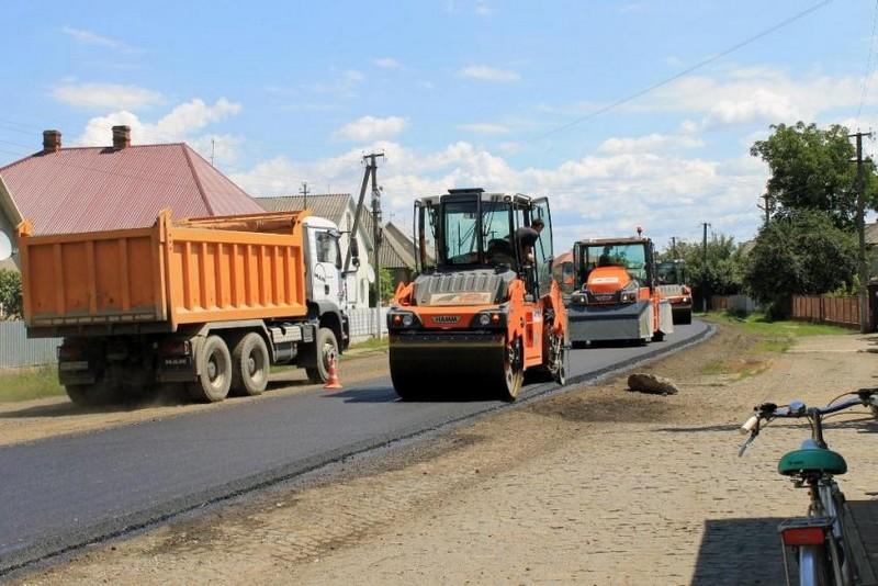 В області розпочали ремонт однієї з доріг