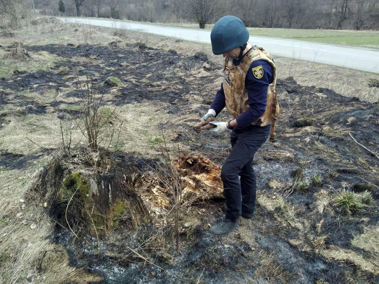 У селі Мукачівського району виявили вибухонебезпечні предмети