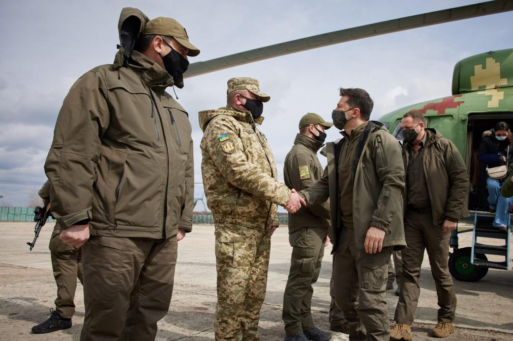 Президент України Володимир Зеленський поїхав на передову. Відома причина