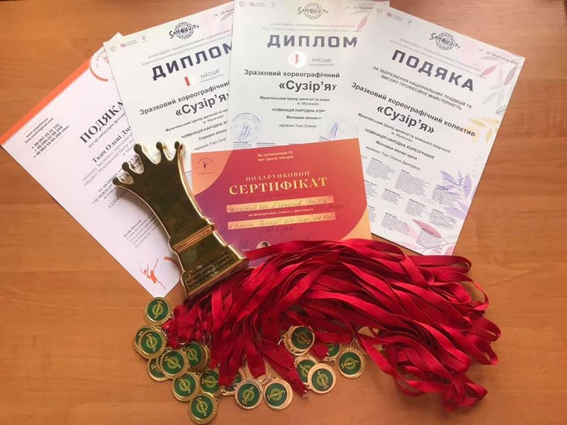 Мукачівські танцюристи перемогли на фестивалі-конкурсі