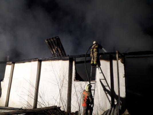 На Закарпатті пожежники впродовж 4 годин приборкували вогонь