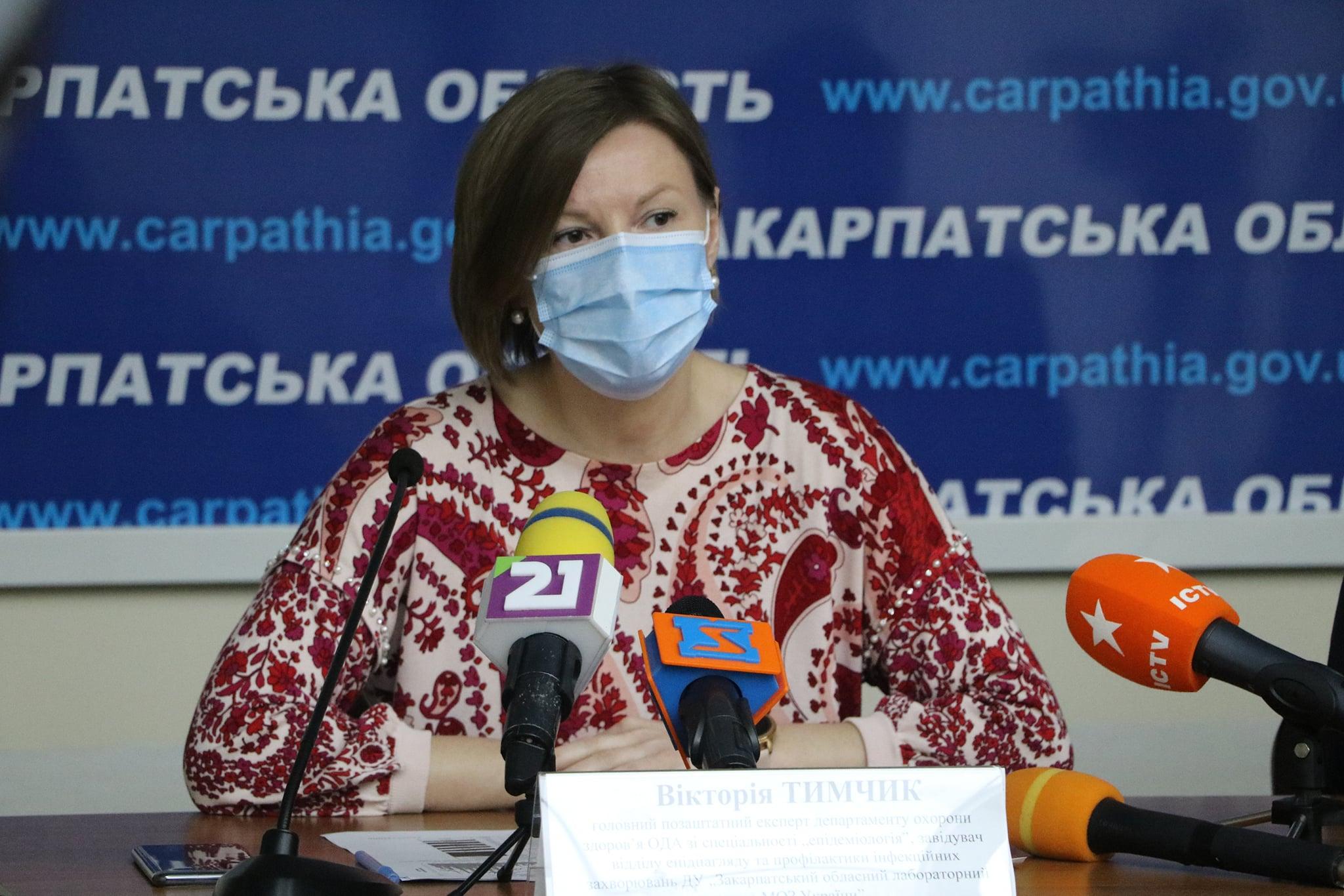 Закарпаття вже цього тижня отримає вакцину проти коронавірусу Sinovaс