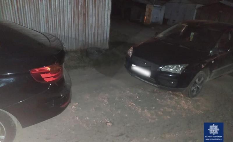 В Ужгороді зіткнулись Ford і BMW
