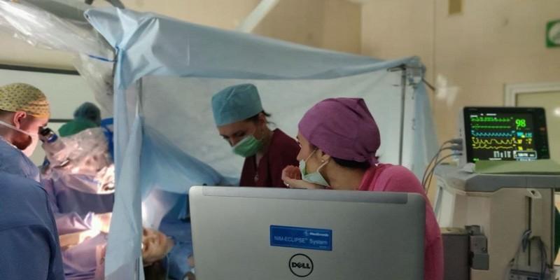 Закарпатські лікарі перші в Україні провели унікальну операцію на мозку з пробудженням