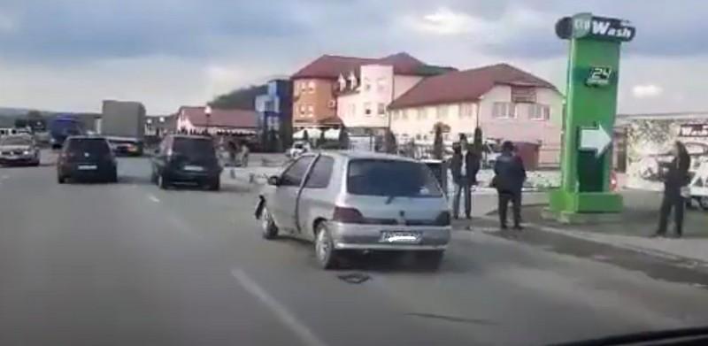 У Мукачеві сталась ДТП. Опубліковано відео