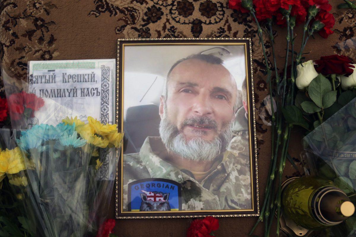 Відбулось прощання із вбитим окупантами воїном 128 бригади