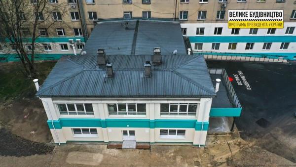 У Хусті відкриють оновлене приймальне відділення районної лікарні