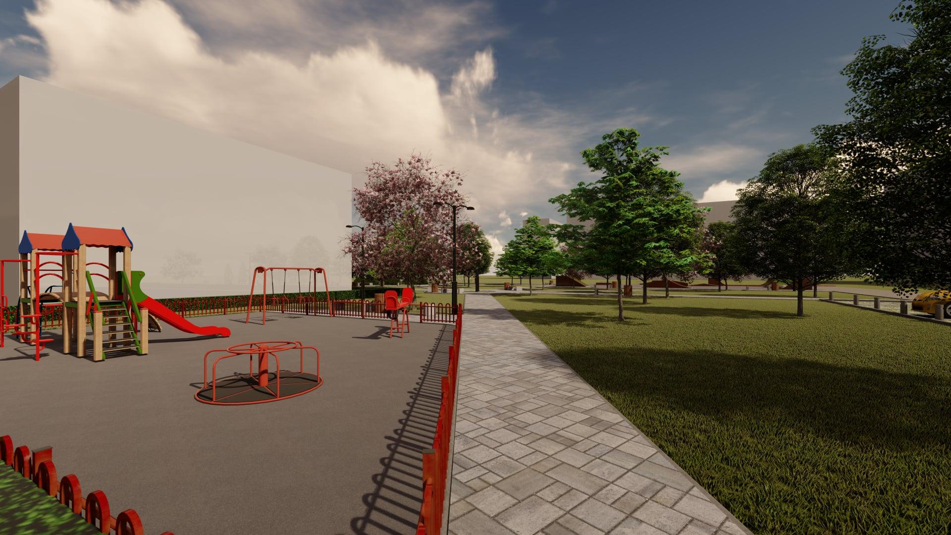 Мукачівцям запропонували вирішити, який парк облаштувати на пустирі в мікрорайоні Росвигово