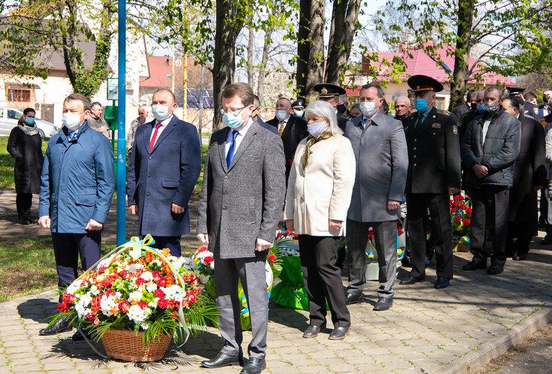 В Ужгороді вшанували ліквідаторів аварії на Чорнобильській АЕС
