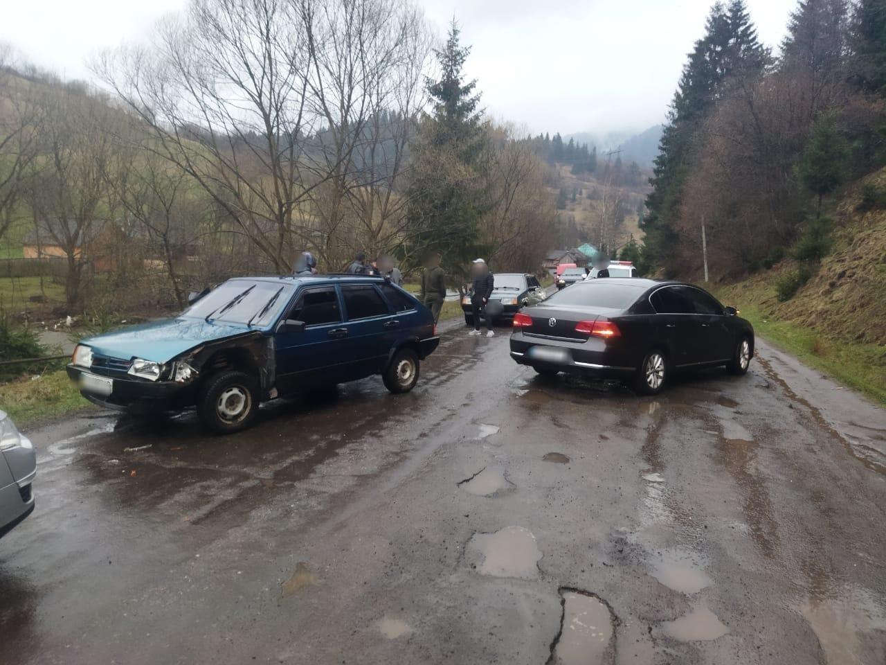 П'яний водій скоїв аварію та втік з місця події