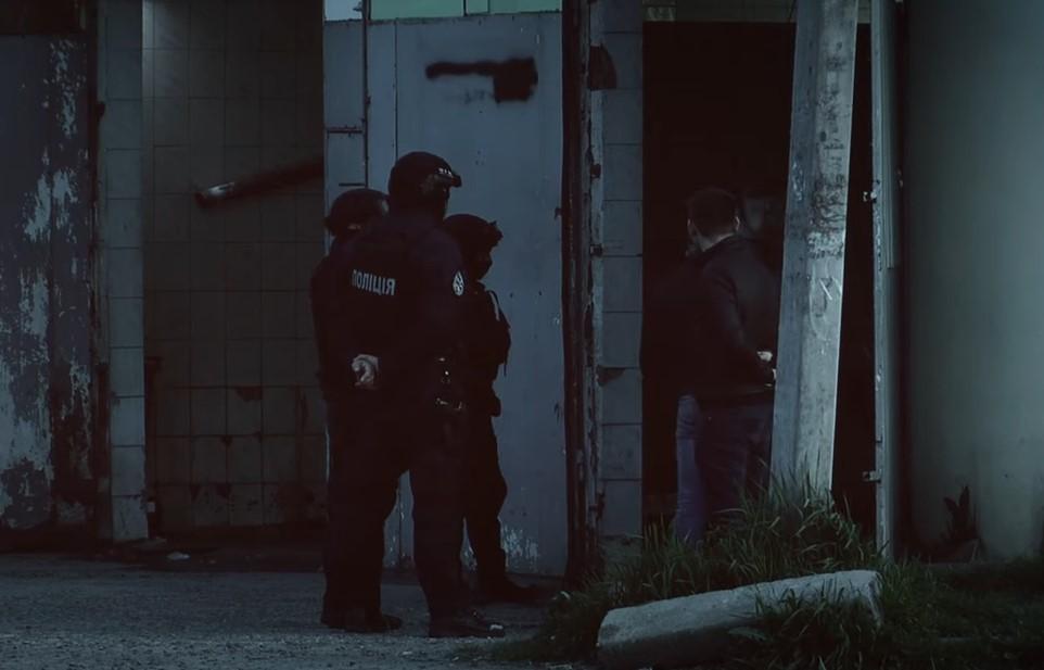 Оприлюднено відео з місця спецоперації в Мукачеві