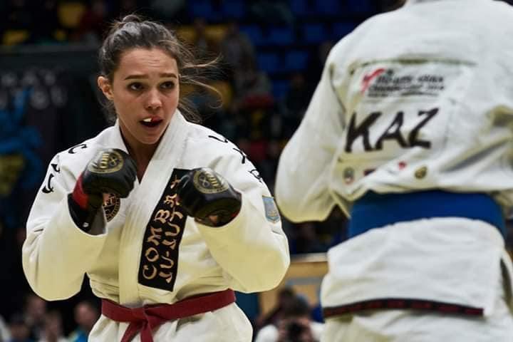 Закарпатка перемогла на чемпіонаті України зі змішаних єдиноборств