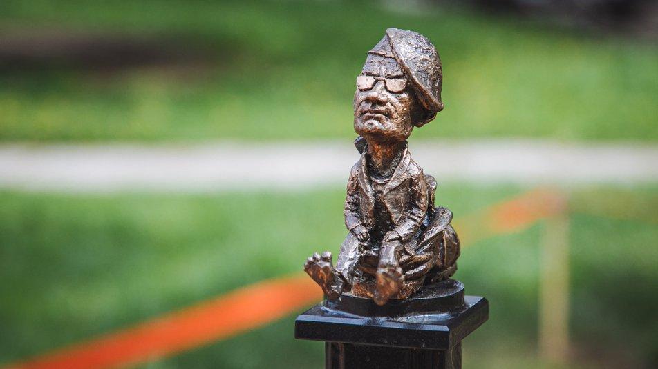 В Ужгороді відкрили нову міні-скульптурку