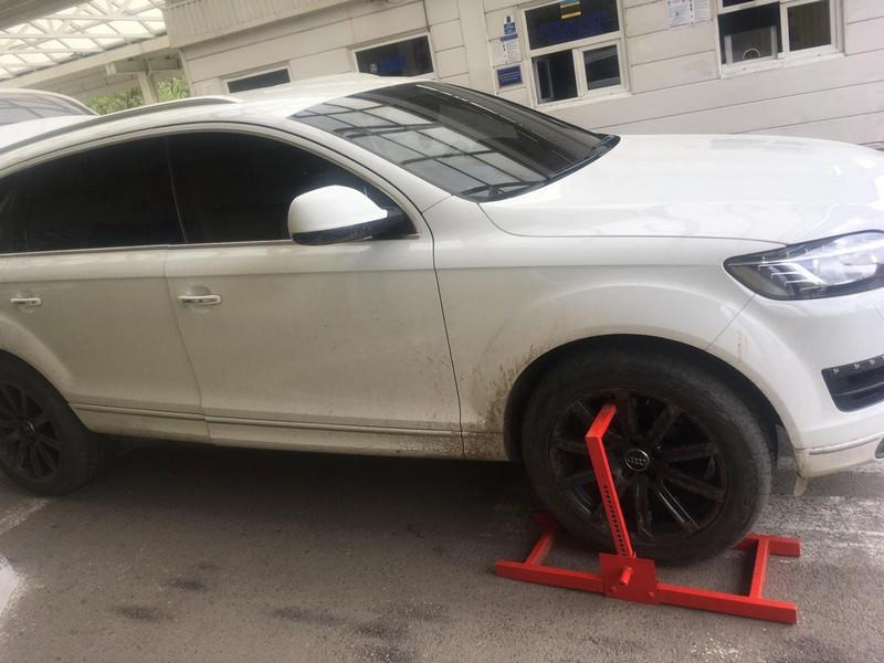 Розшукуване Інтерполом Audi-Q7 затримали на Закарпатті