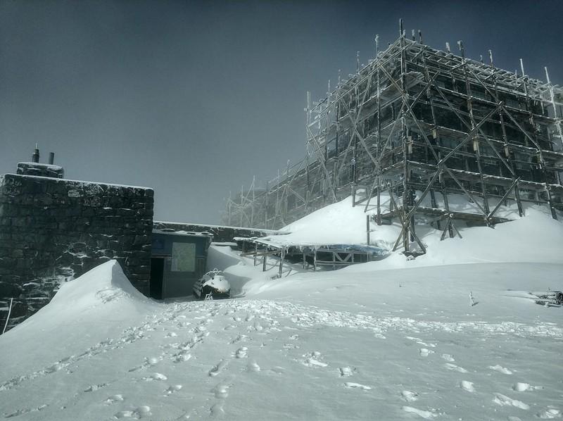 У горах випало 20 сантиметрів снігу