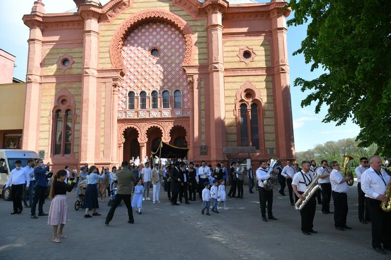 В обласному центрі пройшло свято, яке понад 10 років чекали євреї Ужгорода