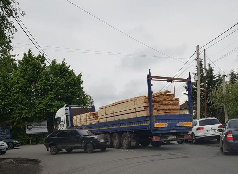 Вранці у Мукачеві сталась ДТП