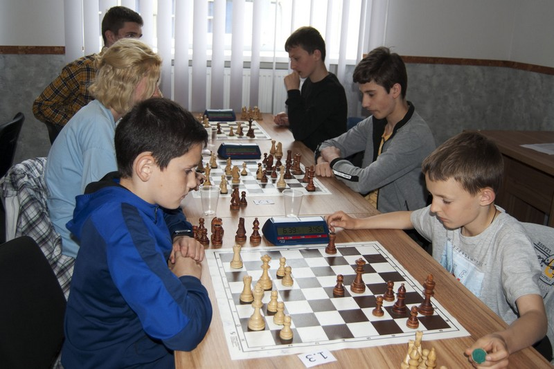 У Мукачеві відбулись змагання з шахів