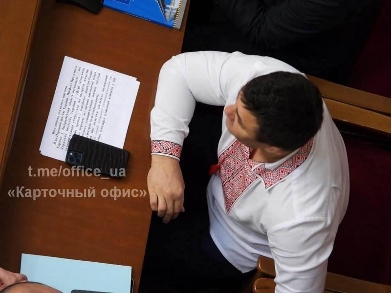 """Із головою Закарпатської організації партії """"Слуга Народу"""" знову трапився конфуз"""