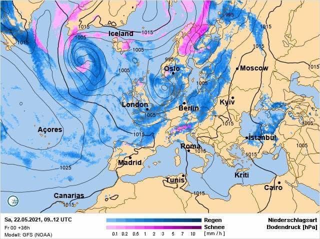 Метеорологиня попередила про атмосферний фронт