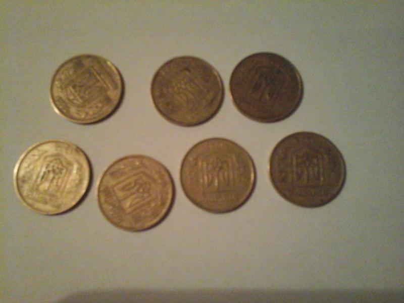 За цінні монети у 25 та 50 копійок готові платити тисячі гривень: як виглядають копійки