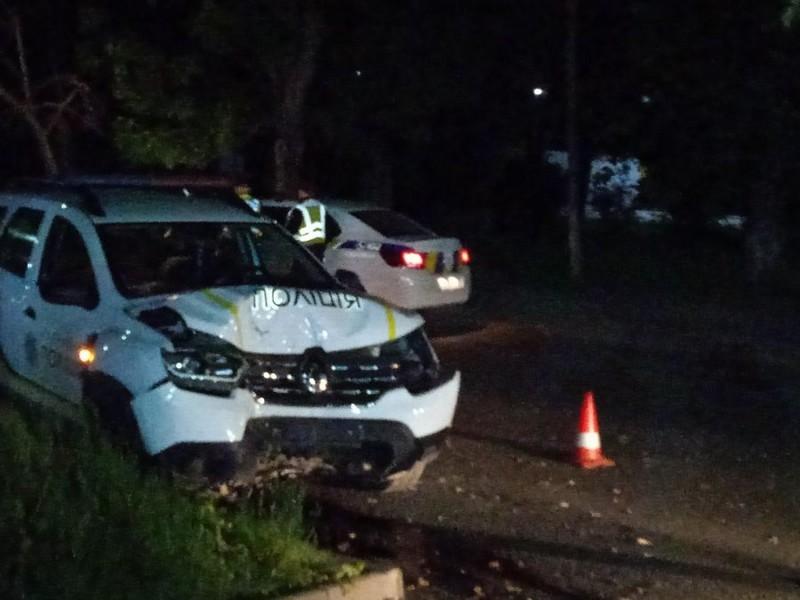 В Ужгороді сталась ДТП за участі поліції