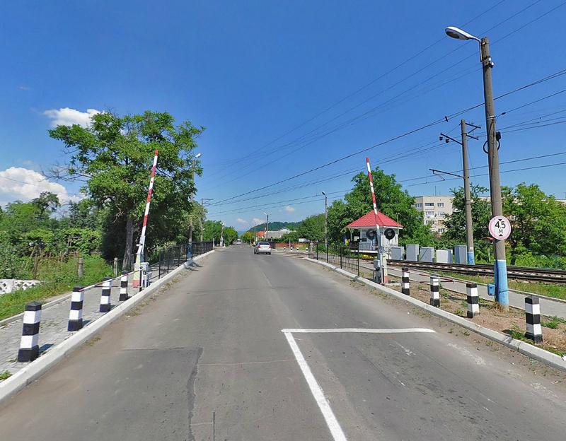 Переїзд на вулиці Духновича у Мукачеві перекриють на 10 днів