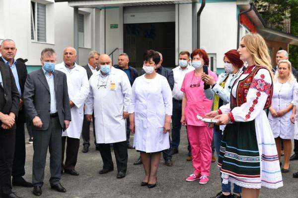 В одній із лікарень області відкрили нове приймальне відділення