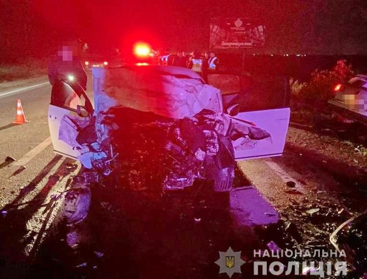 Смертельна ДТП на трасі Київ-Чоп біля села Іванівці. Опубліковано відео