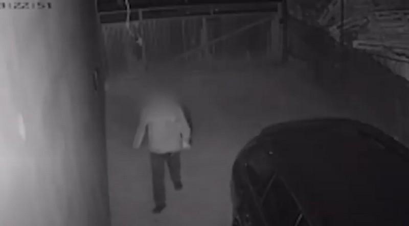 Камери відеоспостереження зафіксували момент злочину