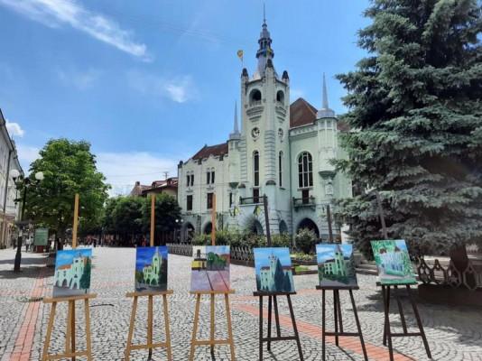 У Мукачеві завершився пленер юних художників