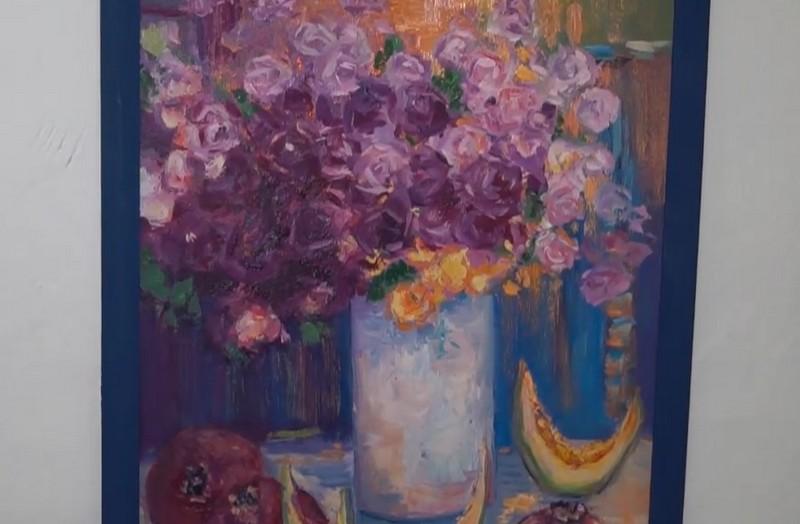 У Мукачеві стартувала персональна виставка картин Тетяни Рибар