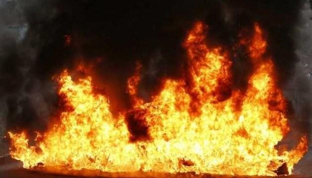 На Закарпатті трапилась пожежа на території підстанції