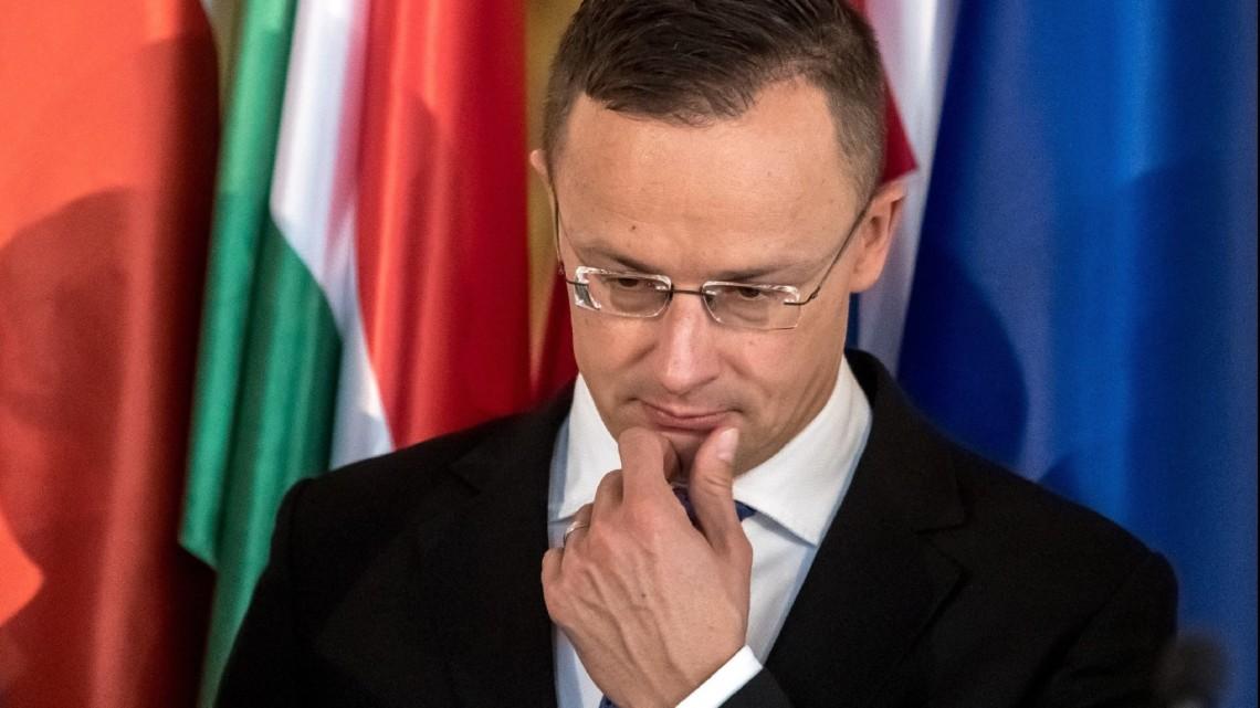 Міністр закордонних справ Угорщини хоче, щоб Україна дозволила державне управління мовами меншин