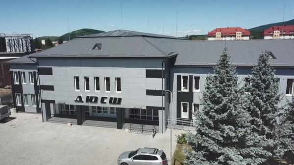У Мукачеві відкрили найбільший на Закарпатті спорткомплекс ДЮСШ