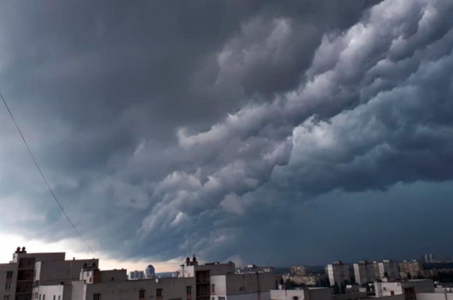 На вихідних до України наблизиться атмосферний фронт: як зміниться погода