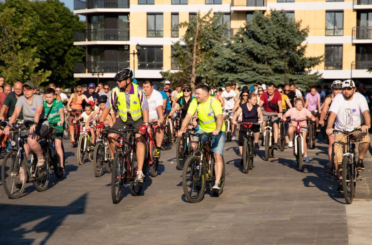 В Ужгороді відбувся велозаїзд Big City Ride
