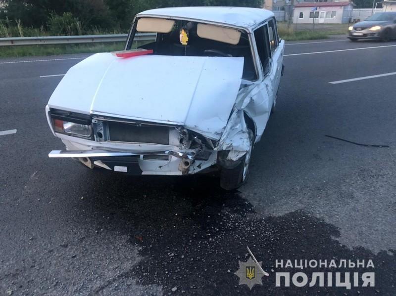 Поблизу Ужгорода сталась ДТП. Постраждав 22-річний хлопець