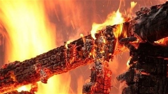 В одному з сіл Костринської ТГ вирувала пожежа