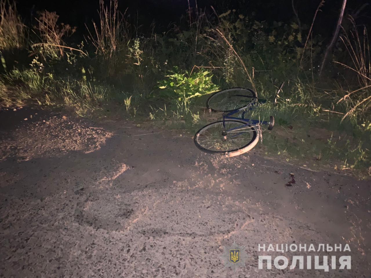 П'яний водій наїхав на велосипедиста. Чоловік помер