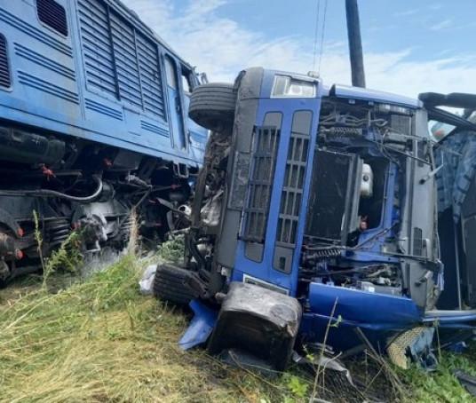 Аварія за участі потяга: подробиці від поліції
