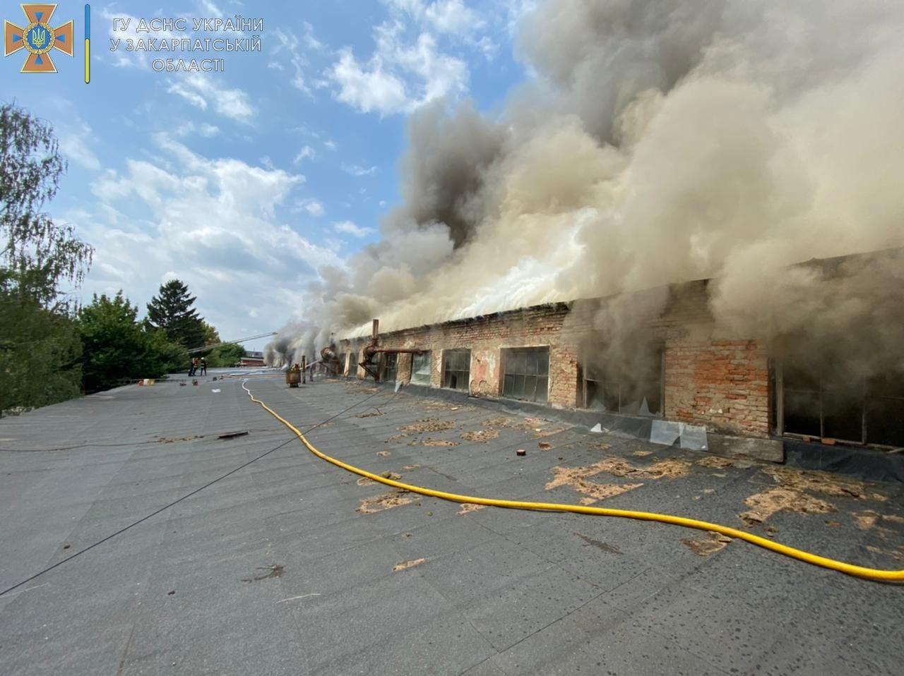 Велика пожежа в Ужгороді: перші подробиці