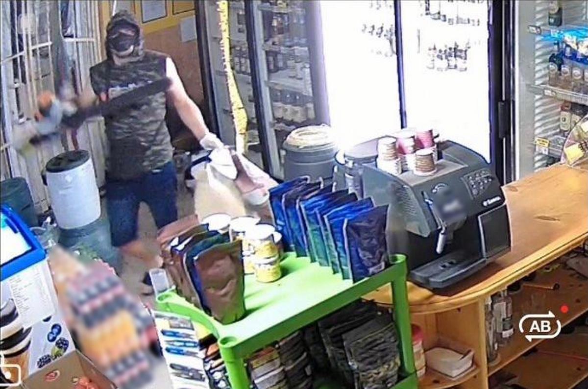 Затримано чоловіка, який скоїв напад на власника магазину