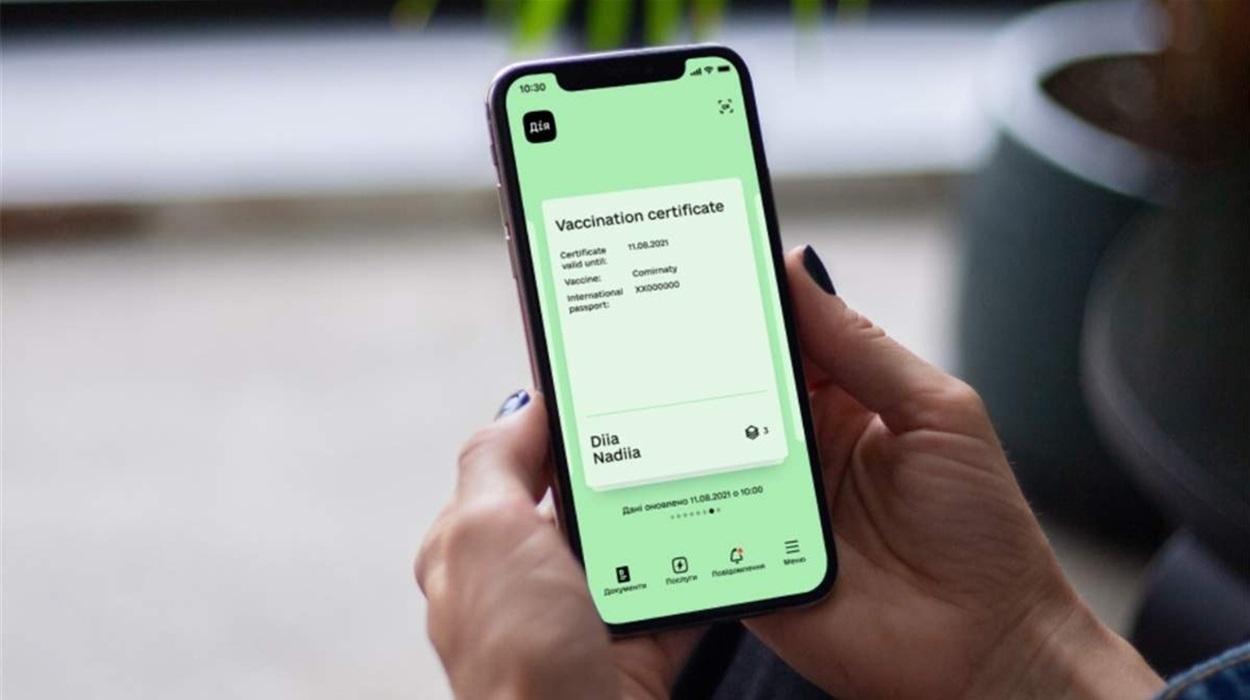 """COVID-сертифікат у додатку """"Дія"""" став доступним для користувачів Android"""